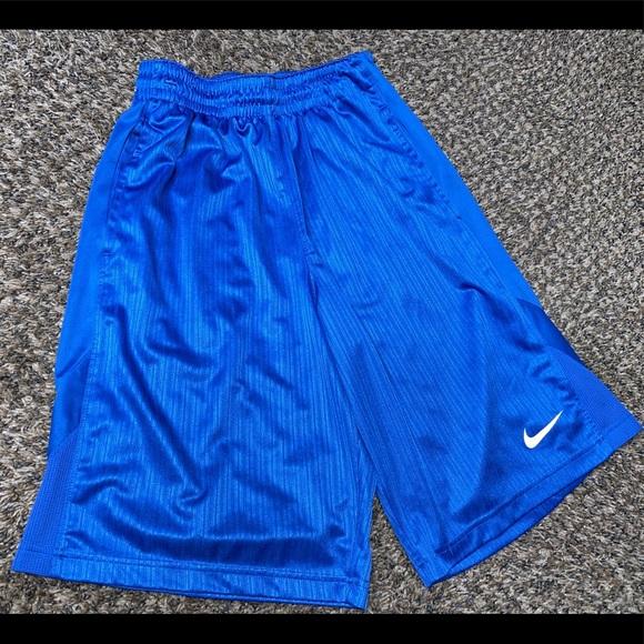 NWT Nike Fit Dry Womens Blue Black Basketball Shorts Sz Small Dri Fit Technology